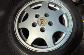 Yogis Tyres Keighley Porsche